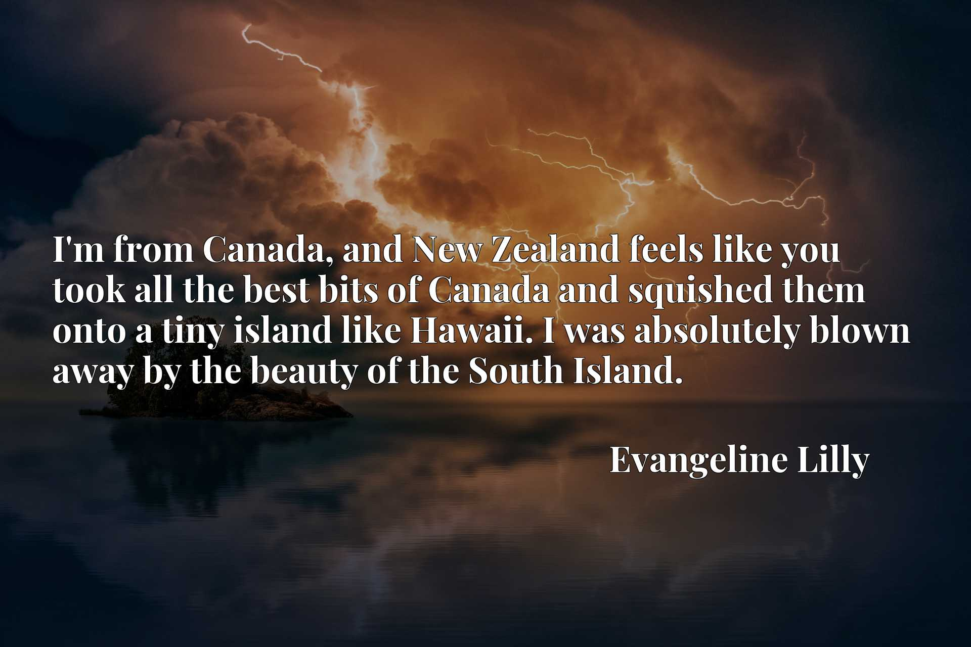 I'm from Canada, and New Zealand feels like you took all the best bits of Canada and squished them onto a tiny island like Hawaii. I was absolutely blown away by the beauty of the South Island.