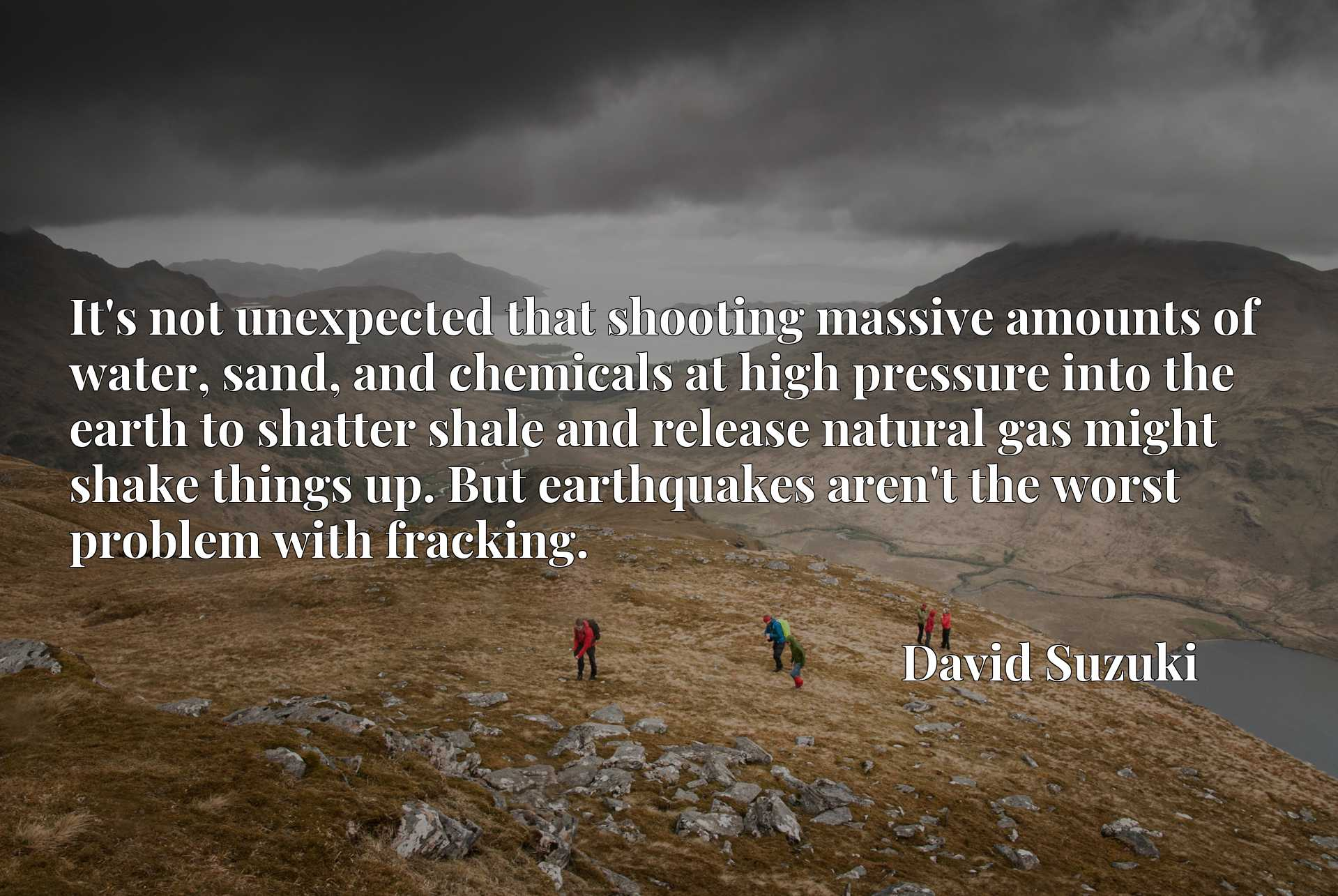 It's not unexpected that shooting massive amounts of water, sand, and chemicals at high pressure into the earth to shatter shale and release natural gas might shake things up. But earthquakes aren't the worst problem with fracking.